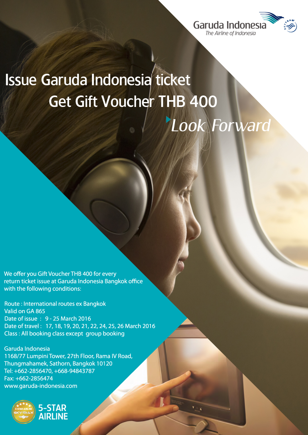 Garuda Indonesia Offers